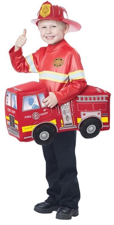 Детский костюм пожарной машины (28-30) детский костюм дарт мола 28 30