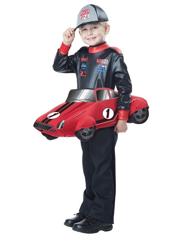 Детский костюм гонщика (M) - Спорт