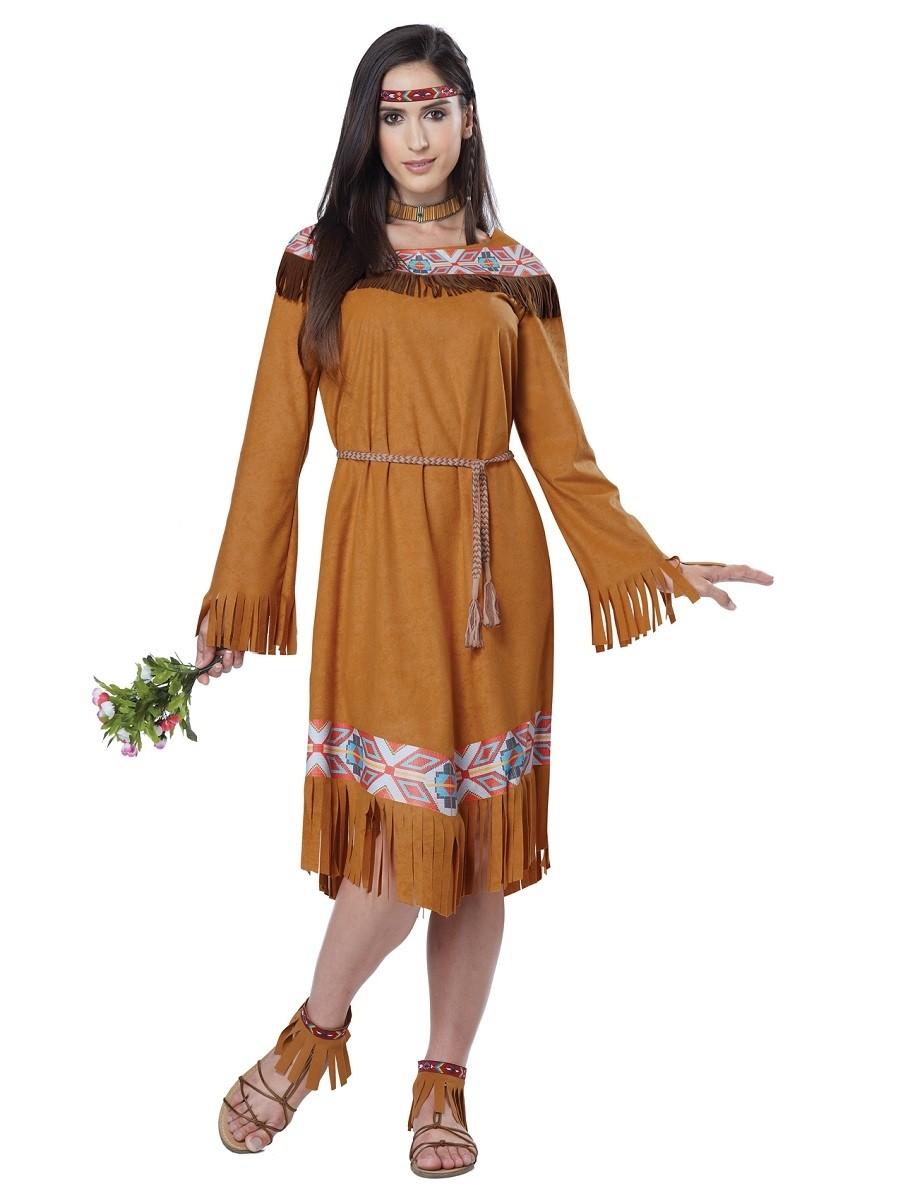 Костюм прекрасной индейской девушки (48-50) костюм прекрасной шапочки 30