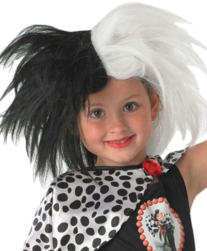 Детский парик Круэллы (UNI) фиолетовый парик дамочки uni