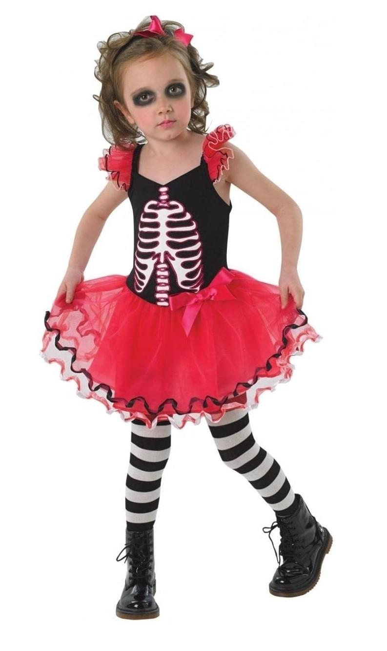 Детское платье Скелетон (30-32) -  Нечистая сила
