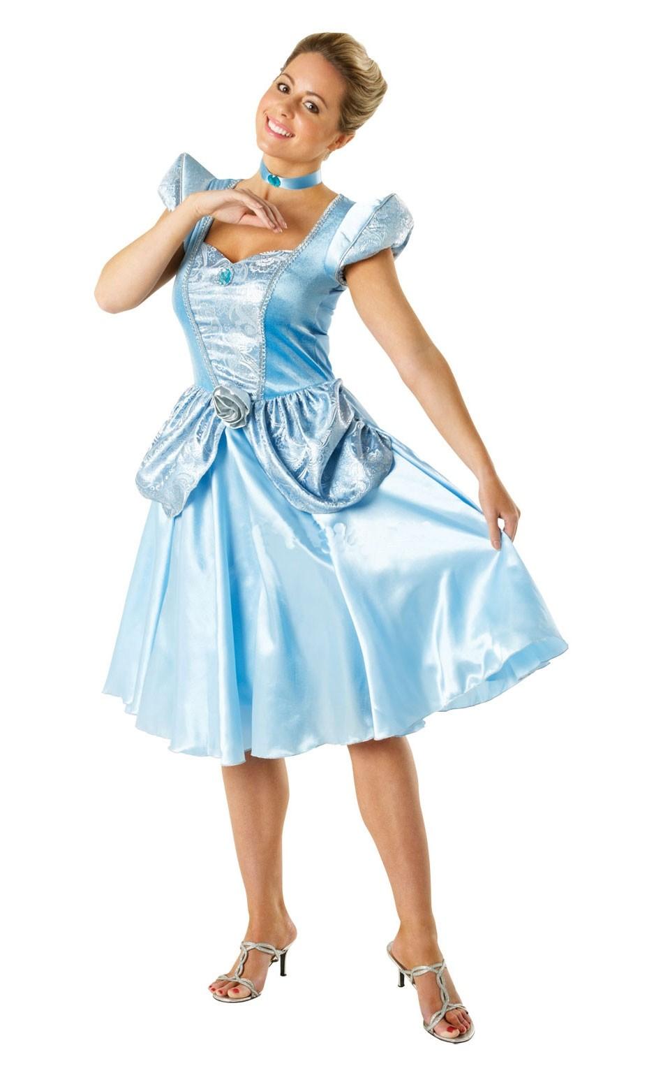 Атласное платье милой Золушки (42) - Сказочные герои, р.42