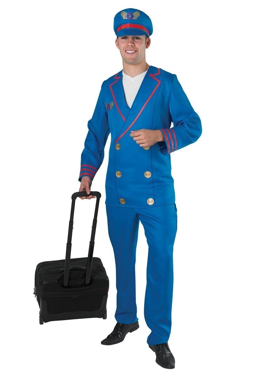 Синий костюм пилота (48) от Vkostume