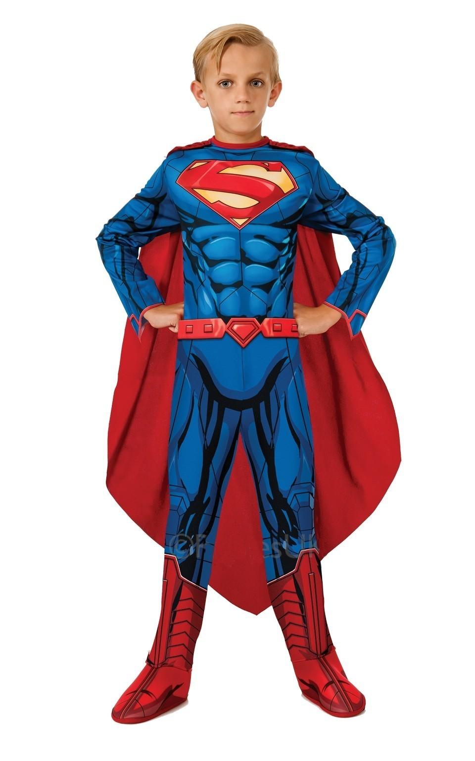 Детский костюм Супермен (30) детский костюм озорного клоуна 34