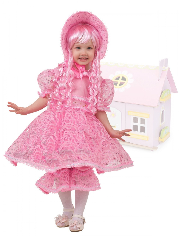 Розовый костюм куклы (28) детский костюм озорного клоуна 34