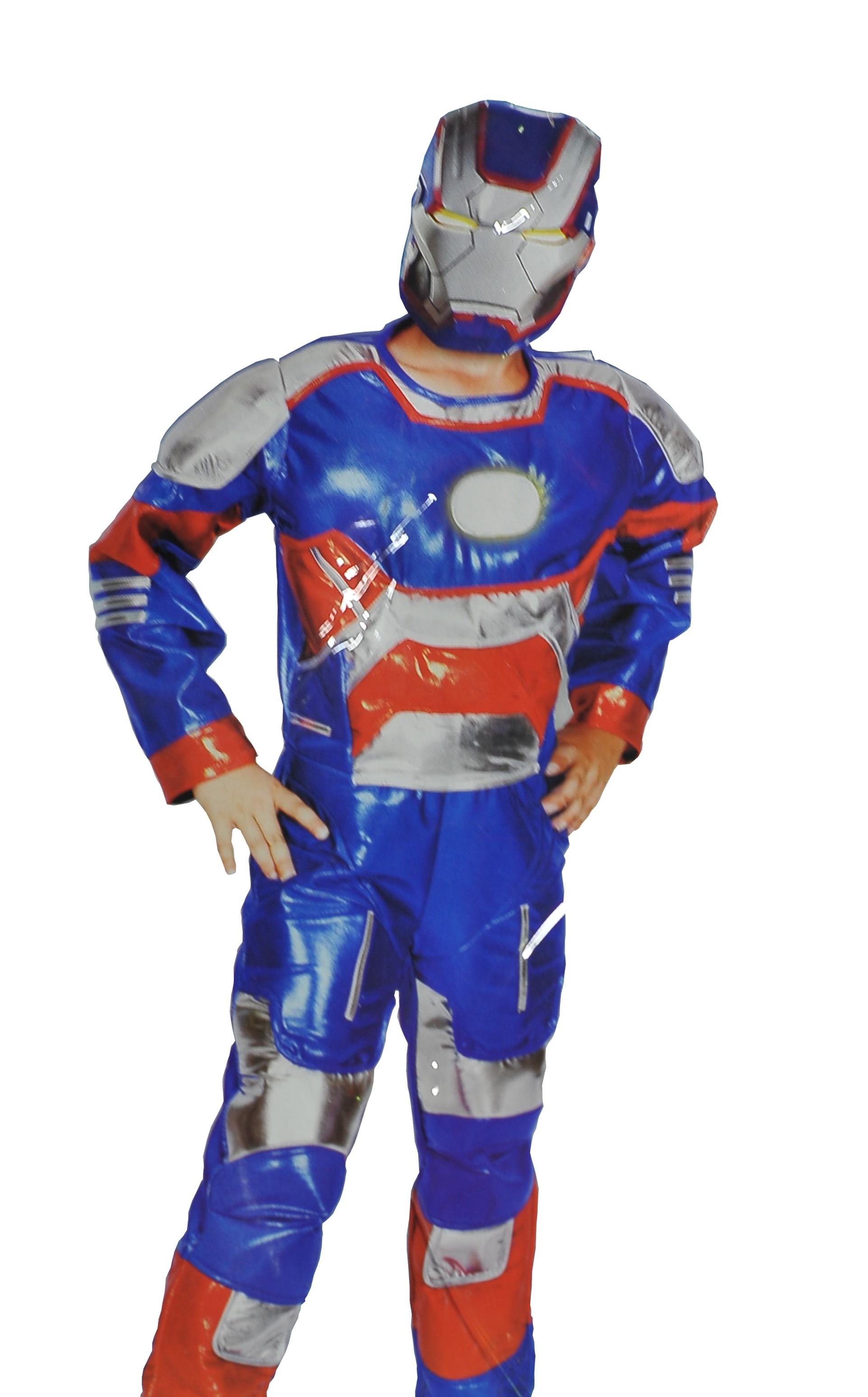 Синий костюм Железного Человека (28) - Киногерои, р.28