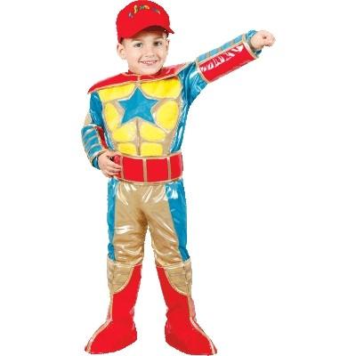 Детский костюм Юваль Супергерой (32-34) костюм маленькой снежинки 32