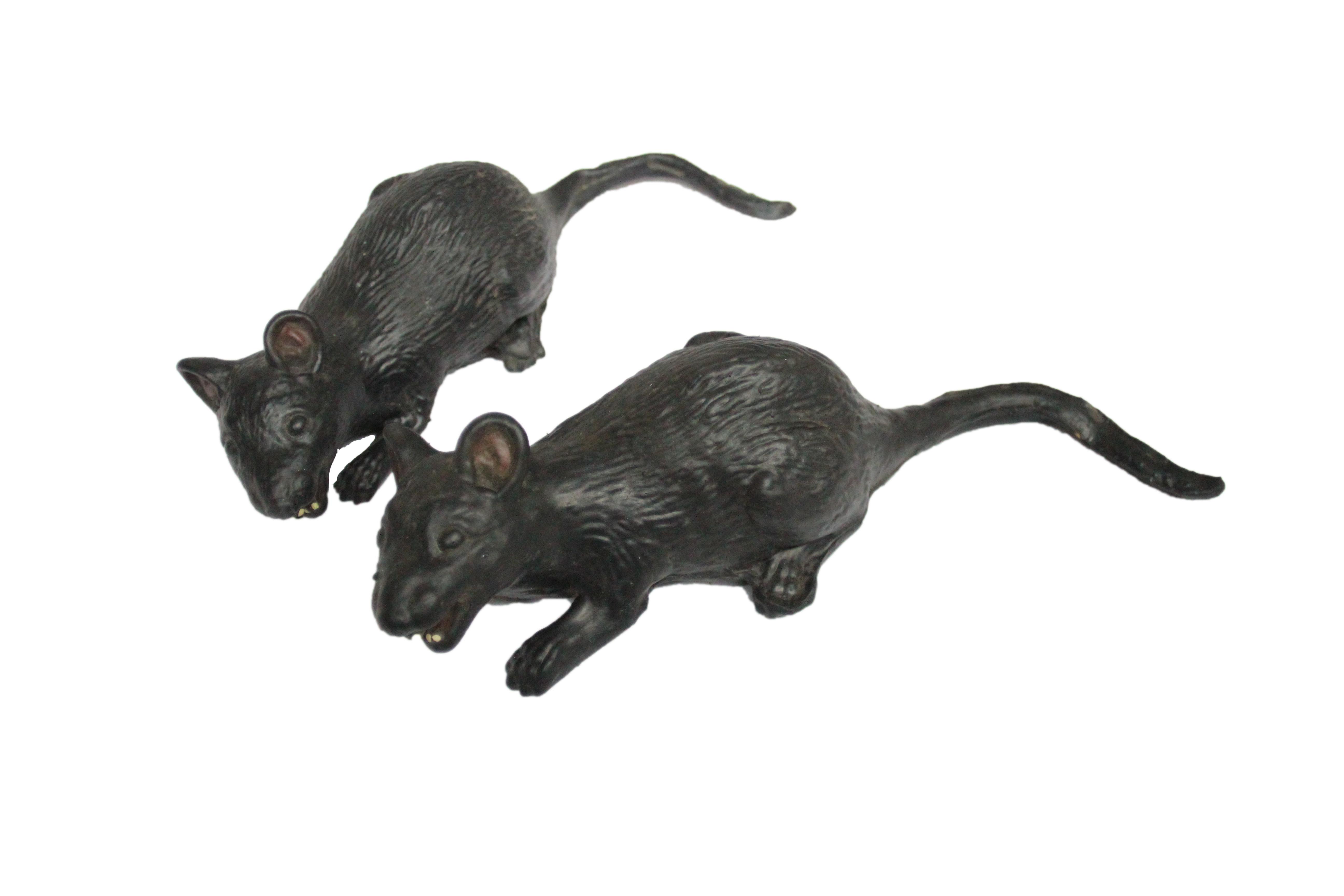 Набор крыс 2 шт черные (UNI) шприц рюмка смертельная инъекция 2 шт uni