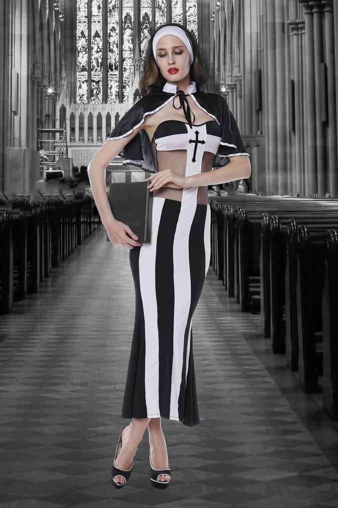 Костюм непокорной монахини (44) - Униформа, р.44