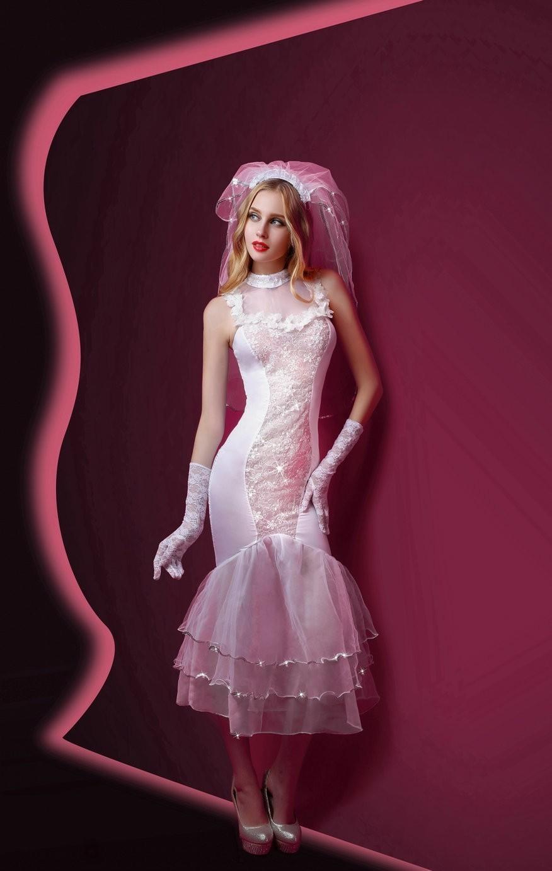 Ажурный костюм невесты (42-44) костюм из мультфильма труп невесты