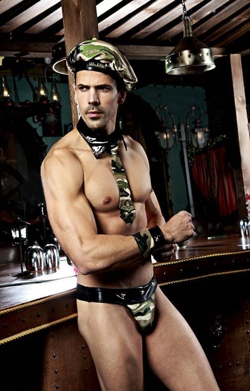 Эротический комплект военного (44-48) - Мужское белье, р.44-48