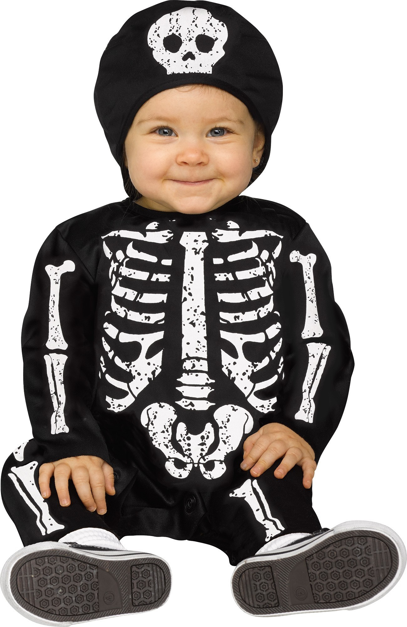 Костюм малыша-скелетона белый (24-26) костюм пони 24 26