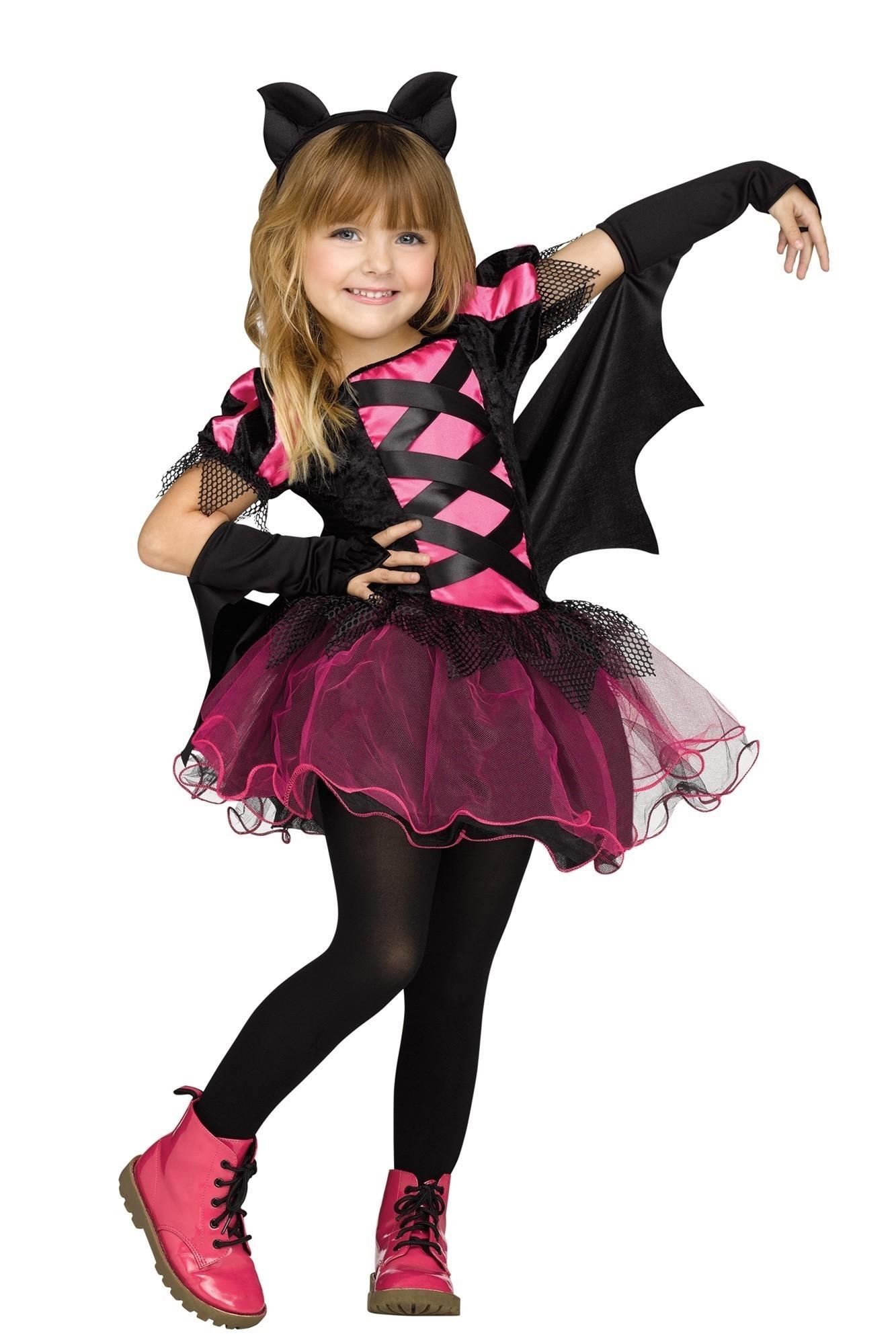 Черно-розовый костюм летучей мыши (22) - Животные и зверушки, р.22