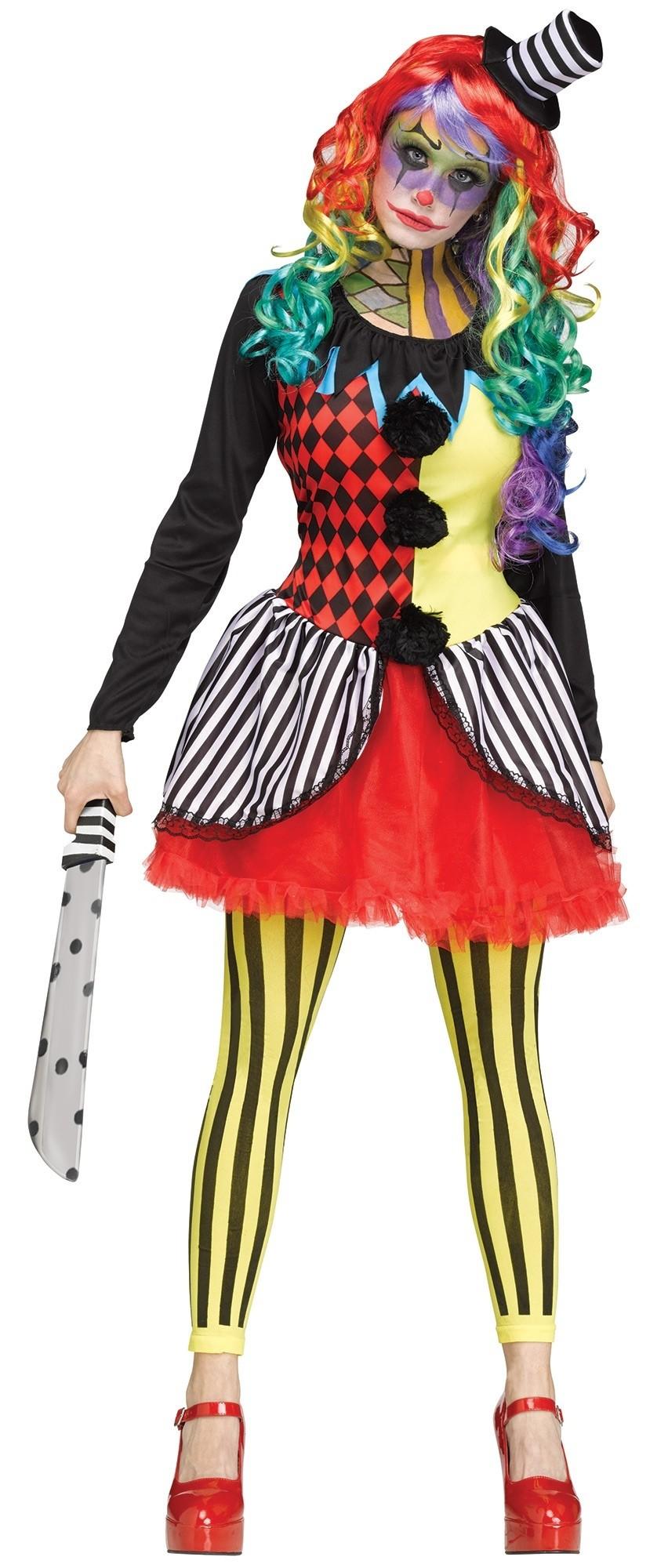 Женский костюм клоунессы-фрика (44) костюм клоунессы взрослый электросталь