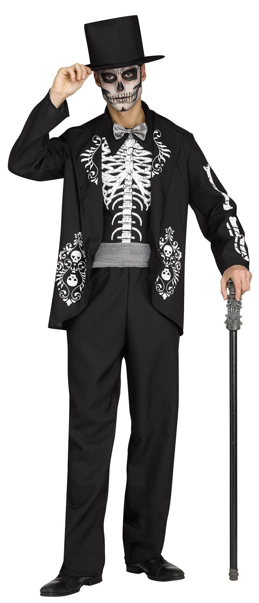 Костюм короля скелетов (42-52) костюм синего короля 52 54