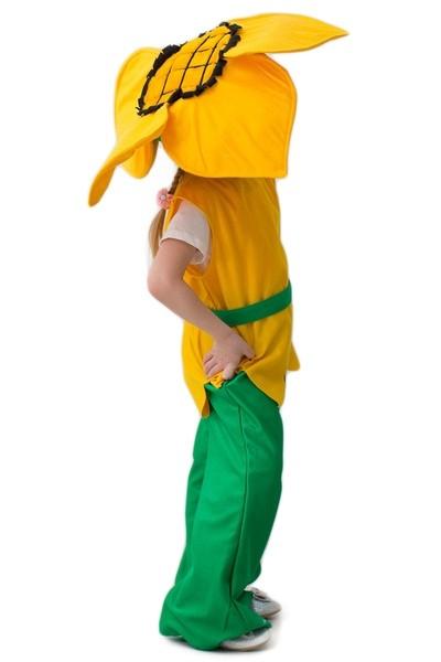 Костюм Подсолнух (46) зеленый костюм девочка скаут 46