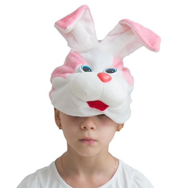 Розовая шапочка-маска Кролик (UNI) розовая шапочка с сердечками ферби uni
