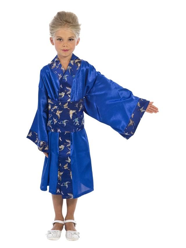 Синий костюм японки (32)
