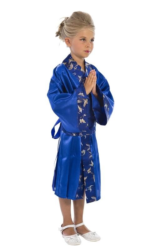 Синий костюм японки (32) от Vkostume