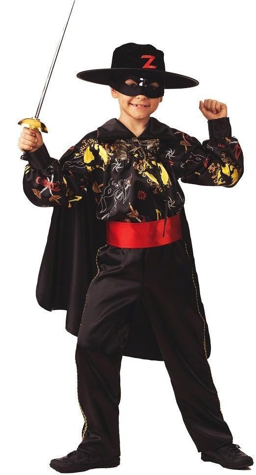 Костюм сказочного Зорро (36) детский костюм сказочного клоуна 30