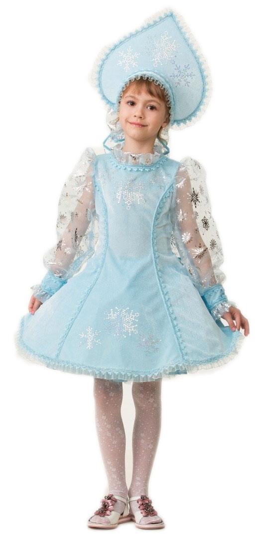 Велюровый костюм Снегурочки (30) костюм снегурочки конфетки 40 44