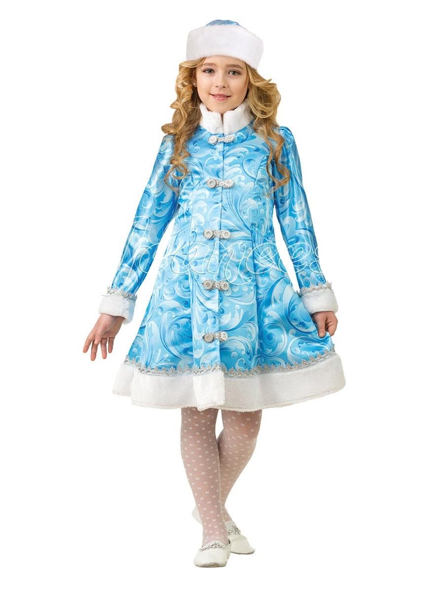 Детский костюм Снегурочки из сказки (30) детский костюм озорного клоуна 34
