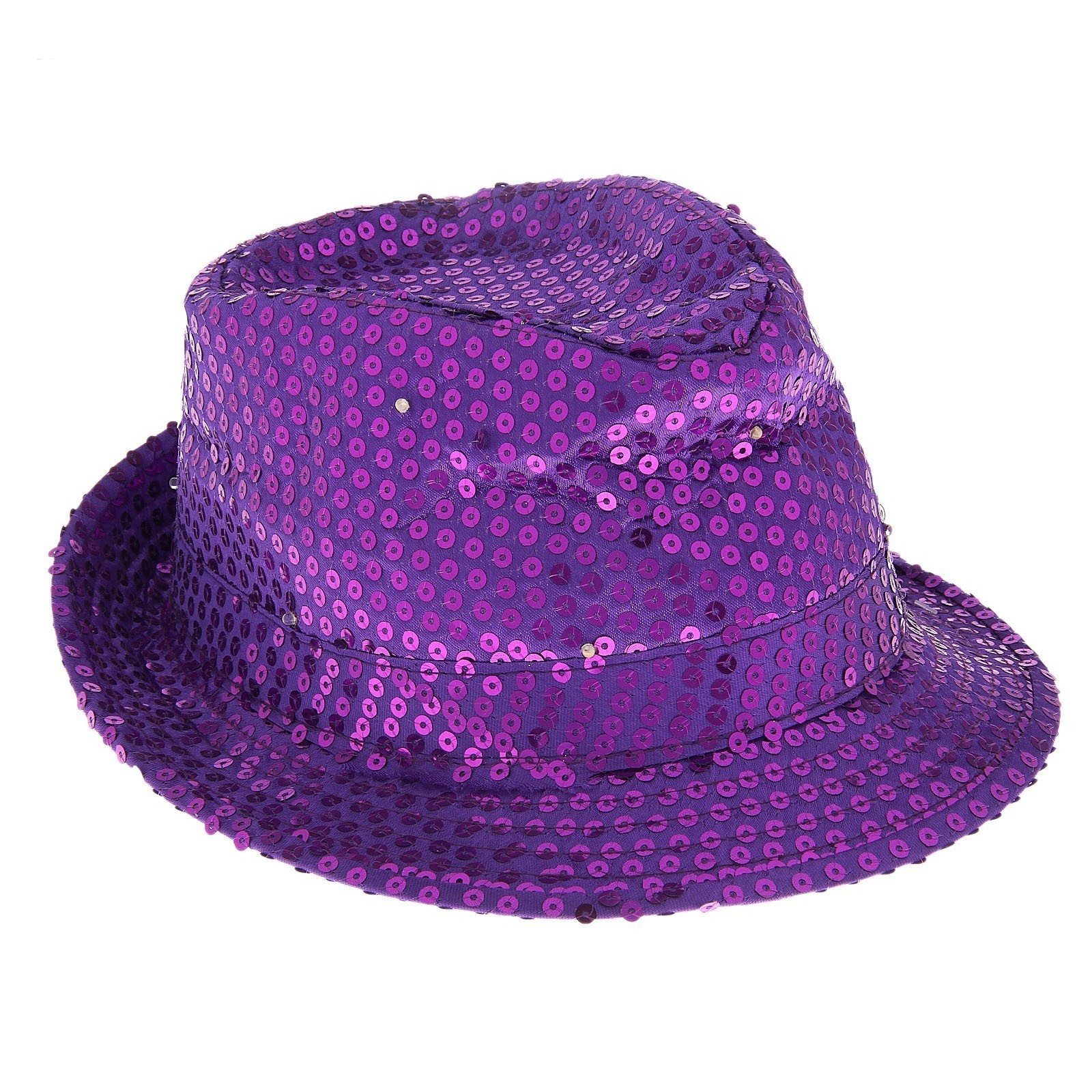 Световая фиолетовая шляпа (UNI) - Шляпы и цилиндры