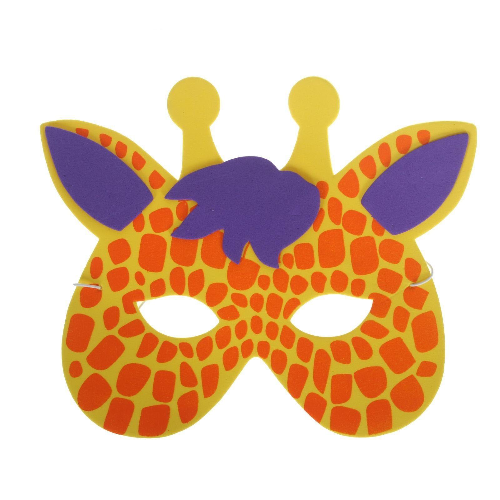 Как сделать маску животных