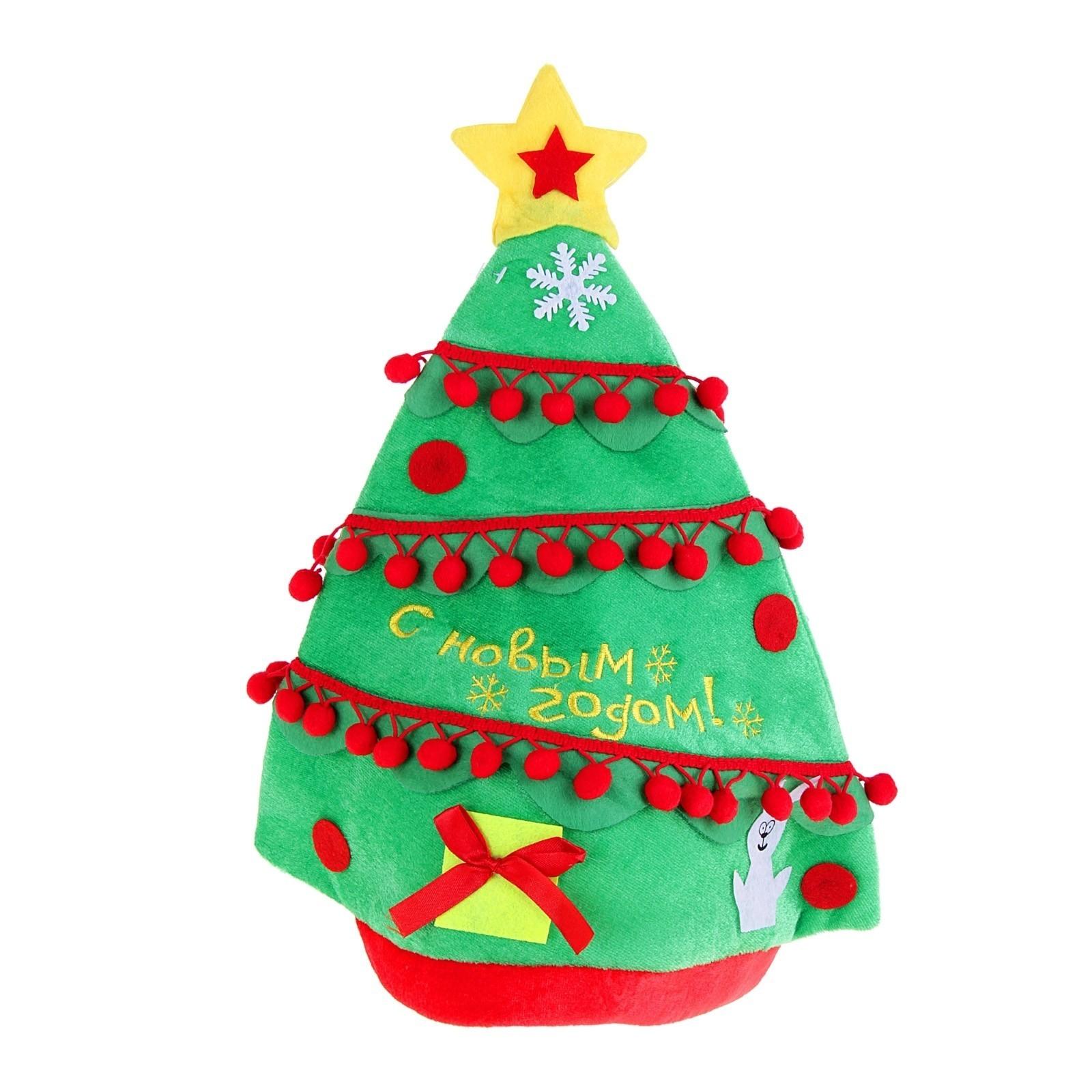 Шляпа Новогодняя елочка (UNI)