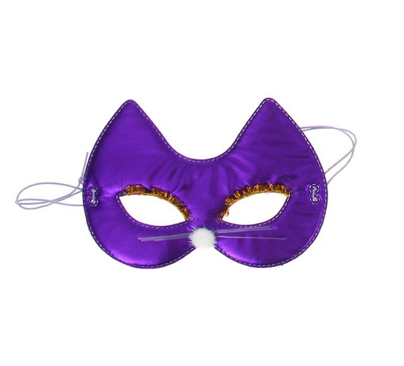 Фиолетовая маска на глаза Кошечка (UNI) плащ и маска штурмовик uni