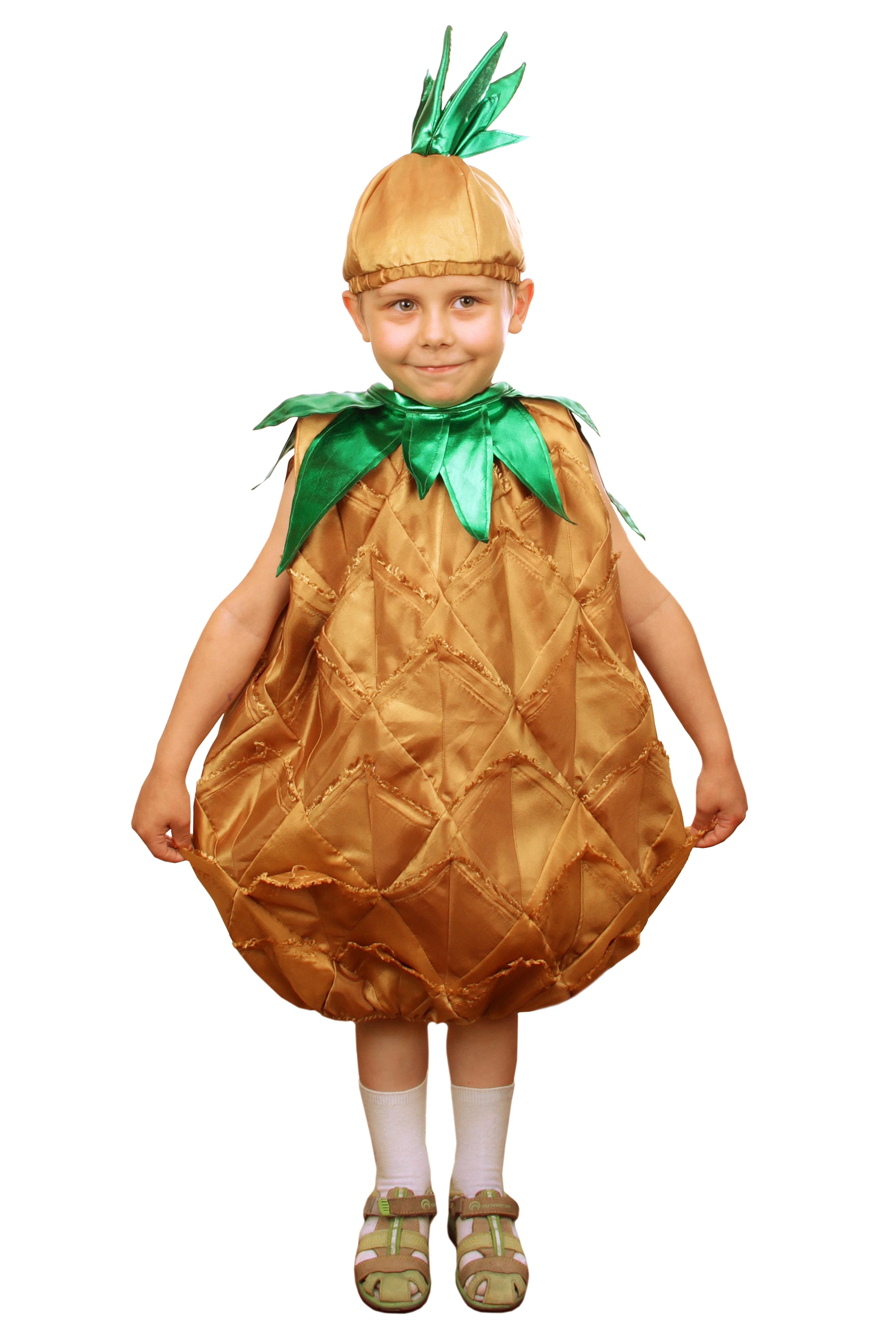 Детский костюм Ананаса (28-30) детский костюм дарт мола 28 30