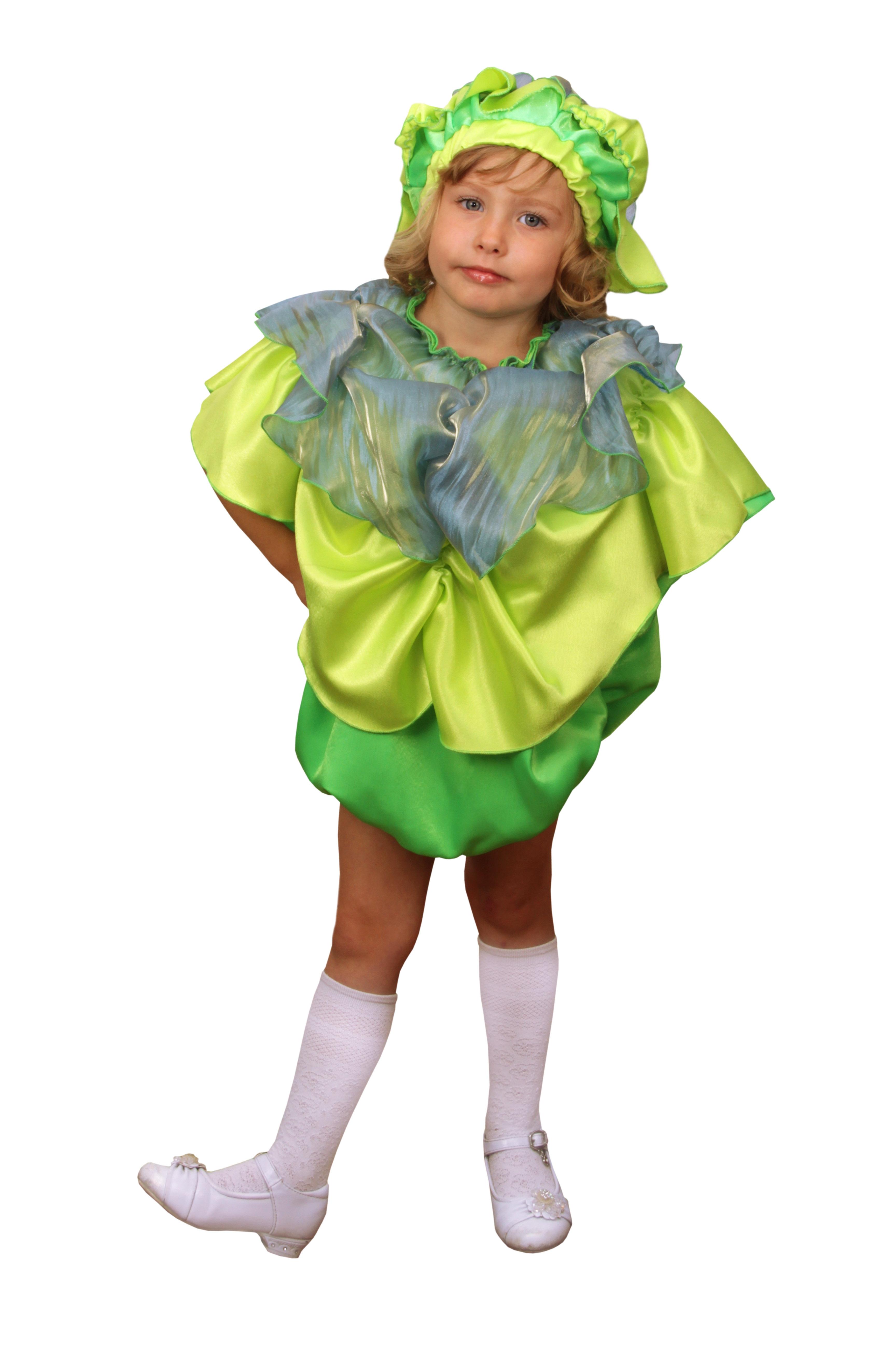 Детский костюм Капусты (30-32) -  Юмор