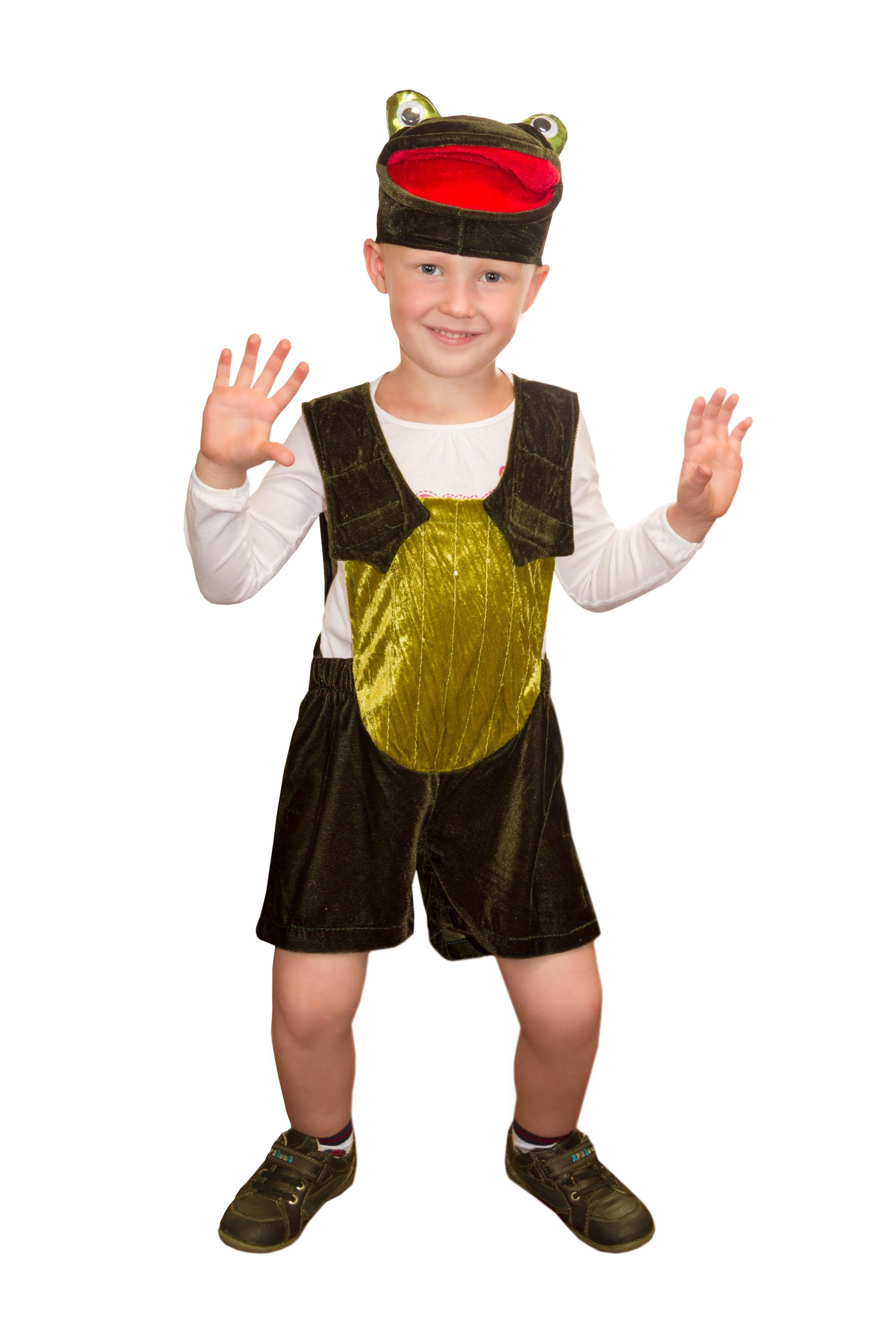 Детский костюм Лягушонка (28-30) детский костюм дарт мола 28 30
