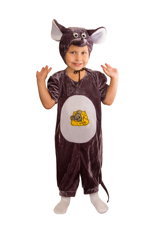 Бархатный костюм мышонка (26) - Животные и зверушки, р.26