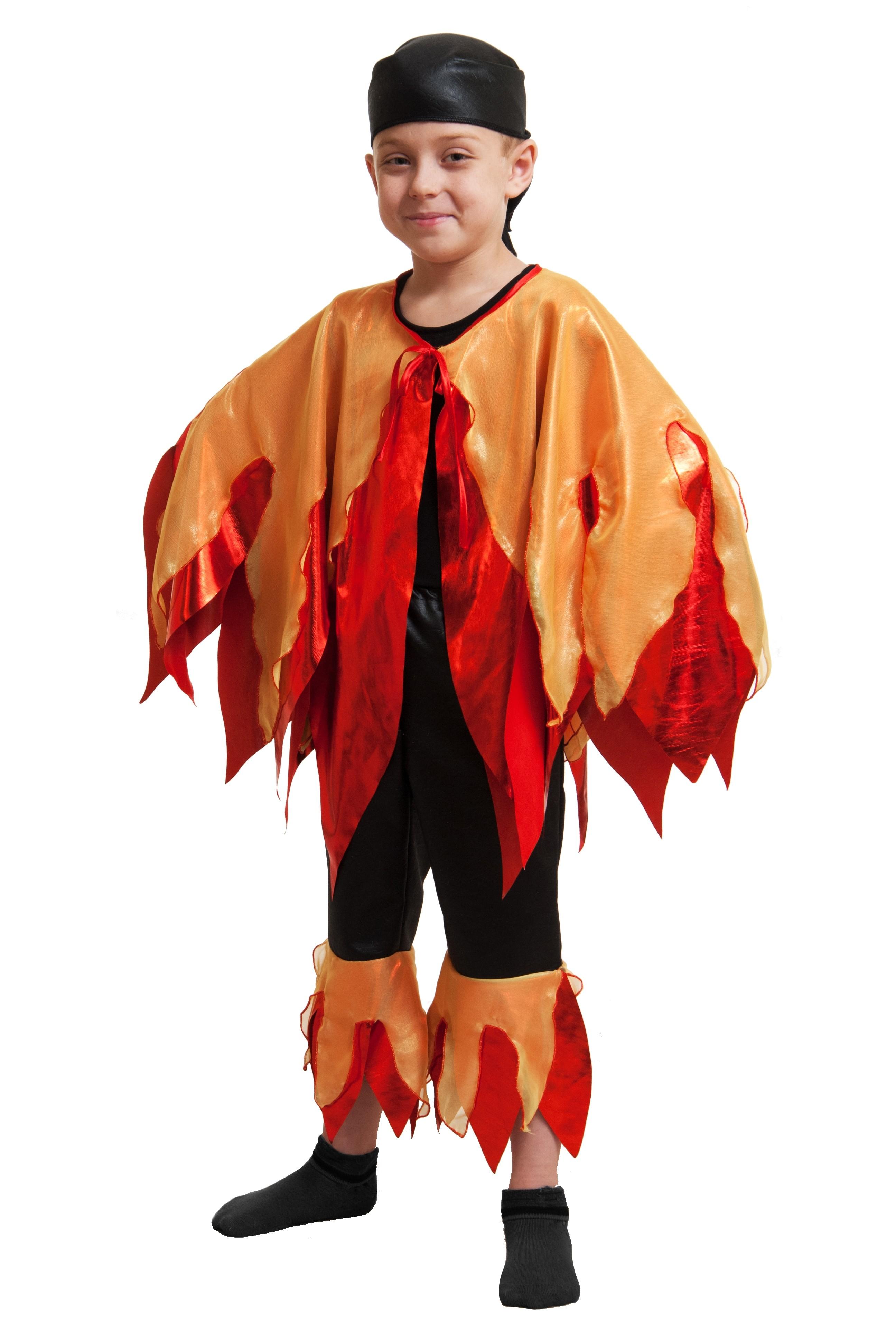 Детский костюм Огонь (30) - Русские народные сказки, р.30