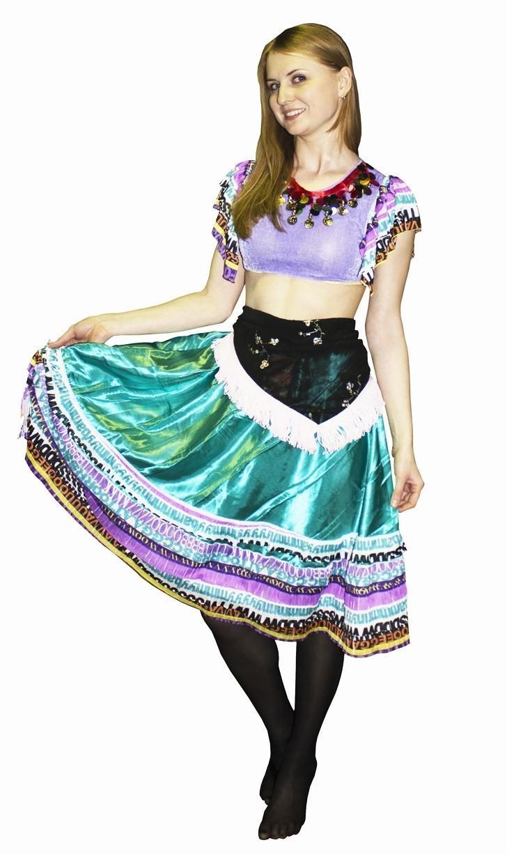Костюм цыганочки для детей (34) детский костюм озорного клоуна 34