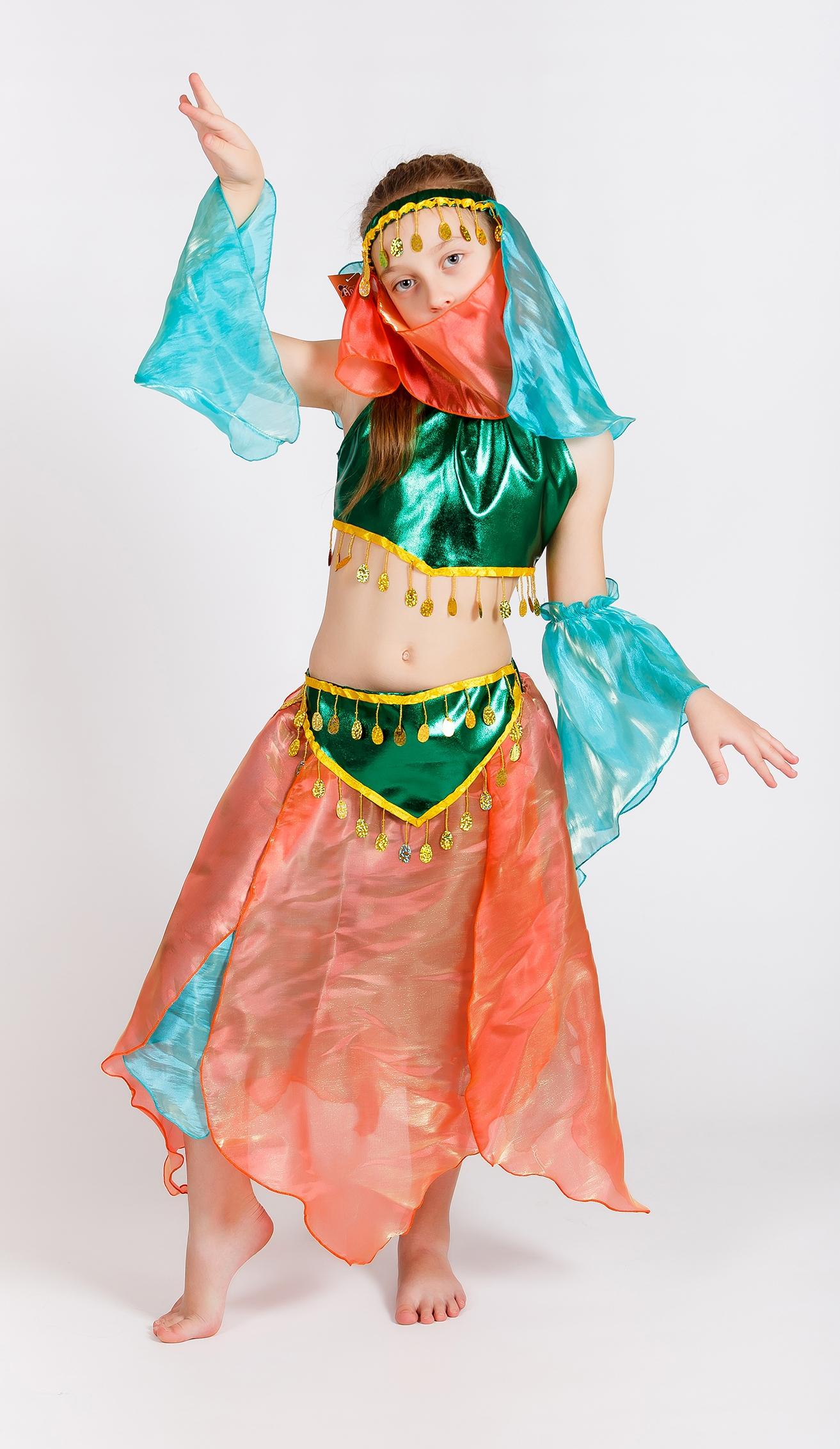 Изумрудный костюм Шахерезады (32) костюм для танцев в спб