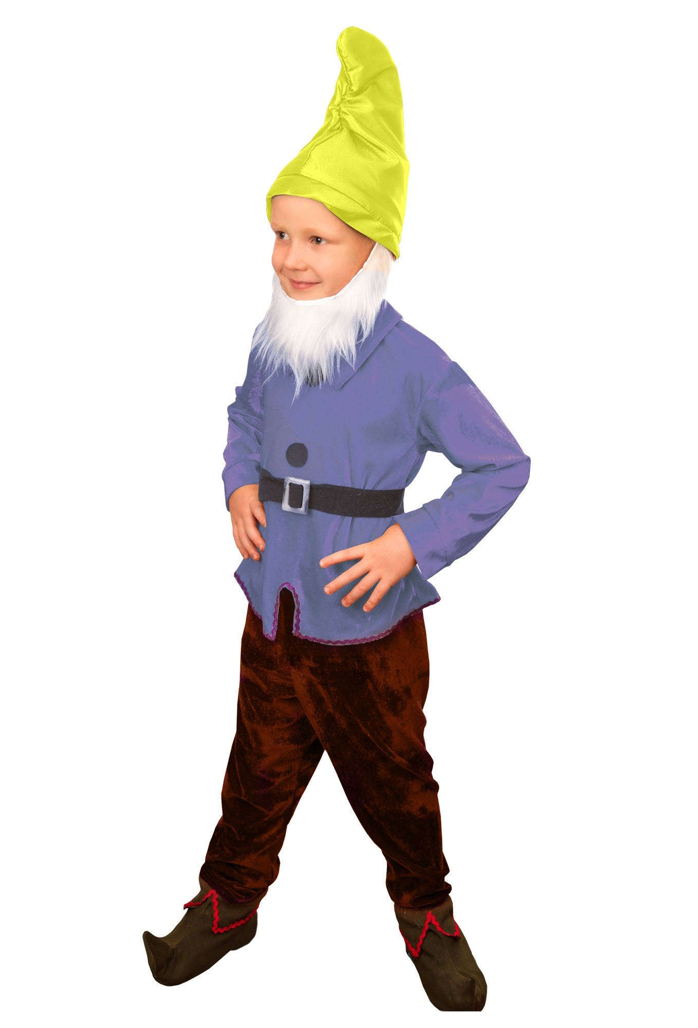 Велюровый костюм гномика (30) - Сказочные герои, р.30