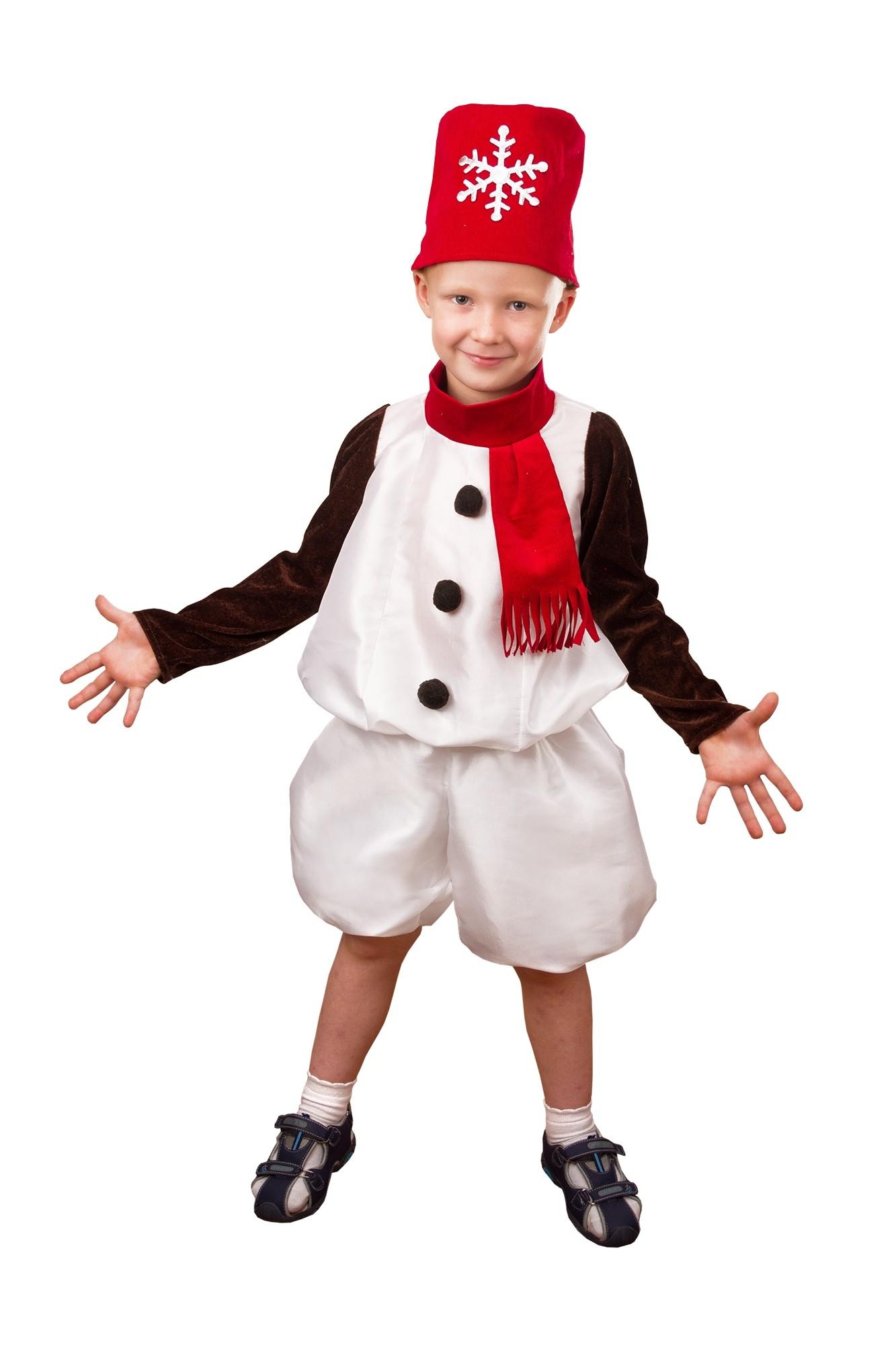 Костюм Снеговичка для детей (30) - Новогодние костюмы, р.30