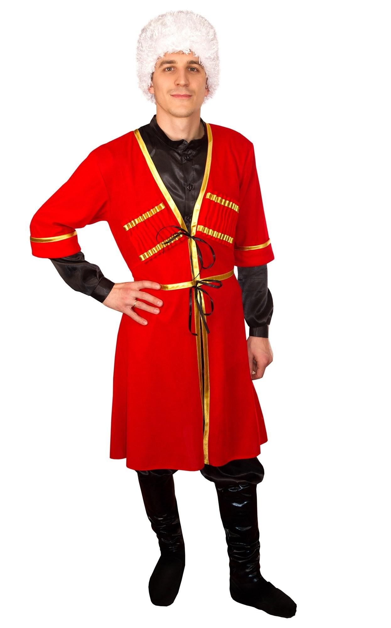 Кавказский мужской костюм (42) купить шелковый халат мужской спб
