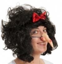 Нос Бабы Яги на резинке (UNI) -  Грим и шрамы