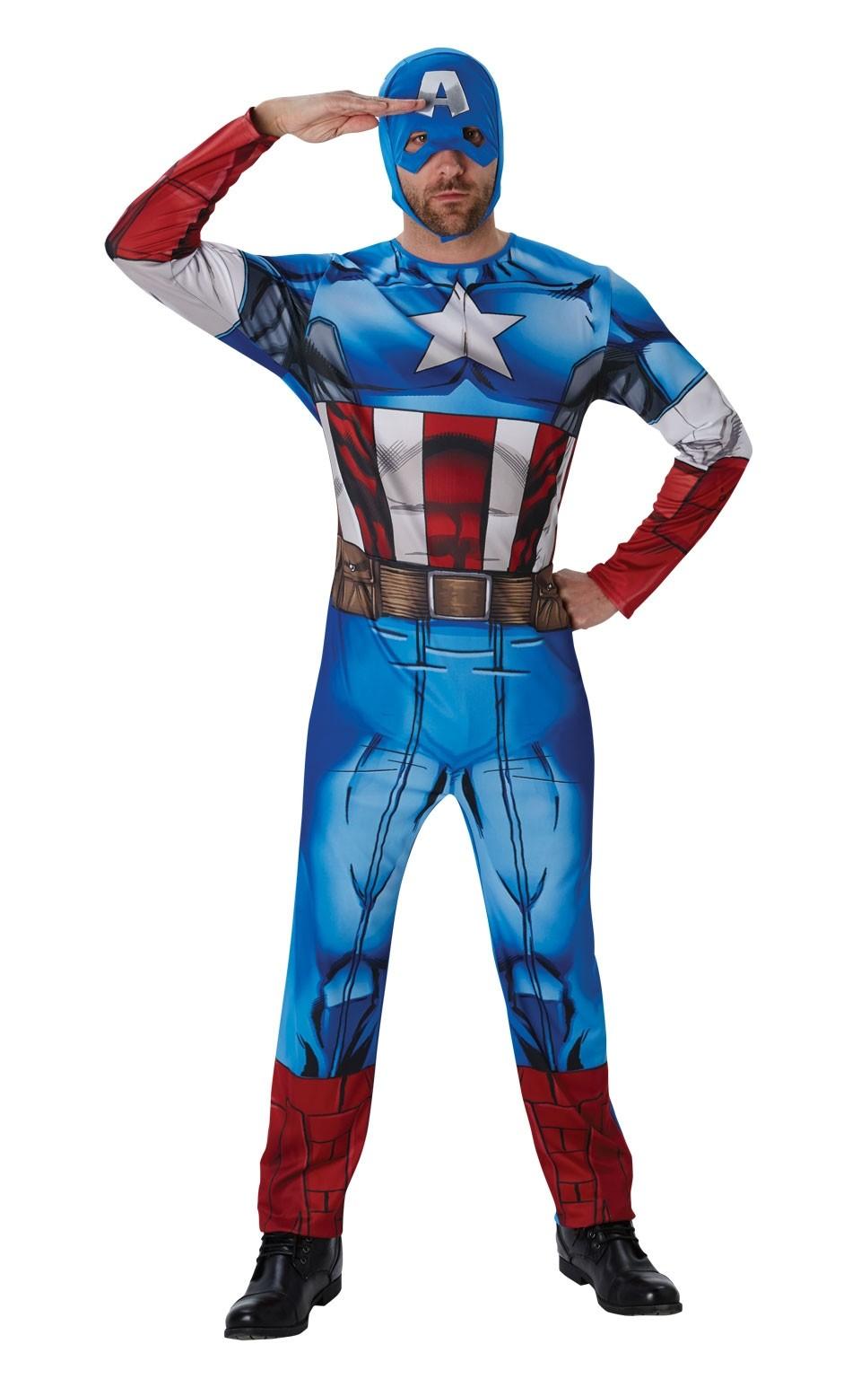Классический костюм Капитана Америка (46) - Супергерои и комиксы, р.46