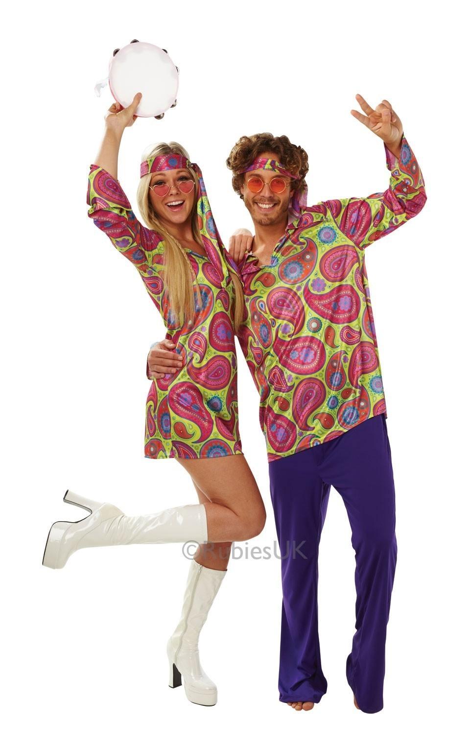 Мужской костюм Хиппи 70-хх (48-50) костюм цветочной хиппи 48