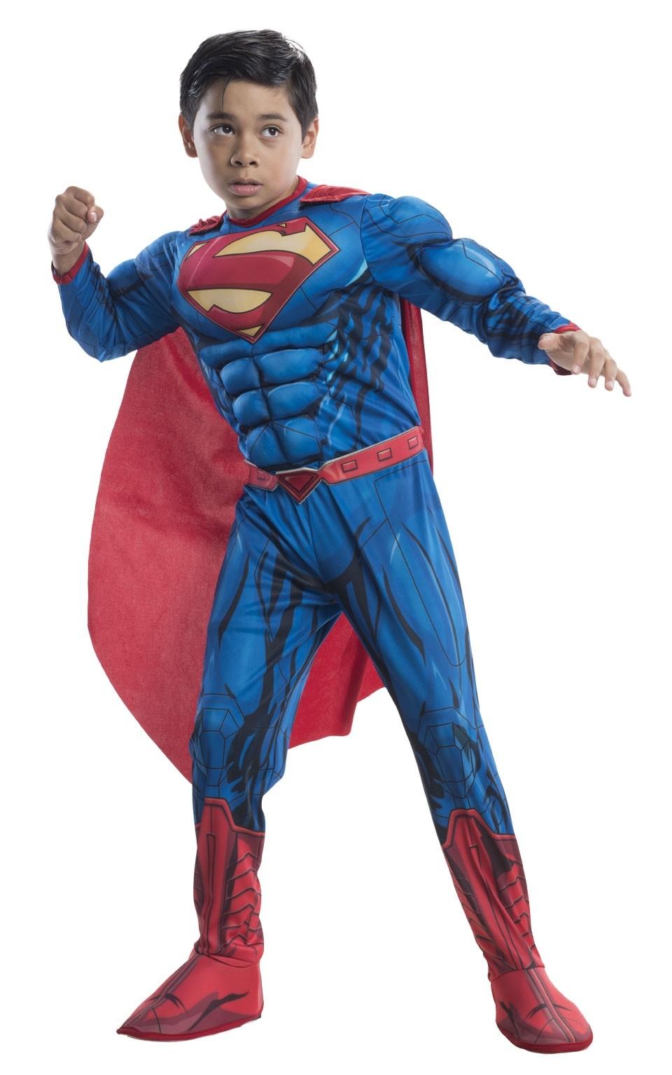 Костюм Супермена Deluxe для детей (S)