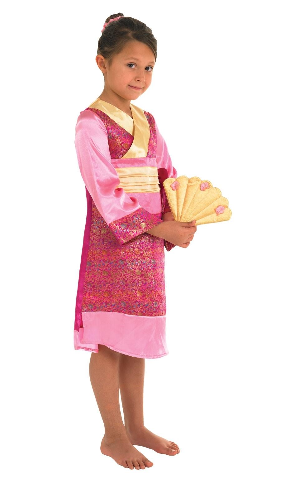Костюм маленькой японской принцессы (28-30) как жилье при маленькой зарплате