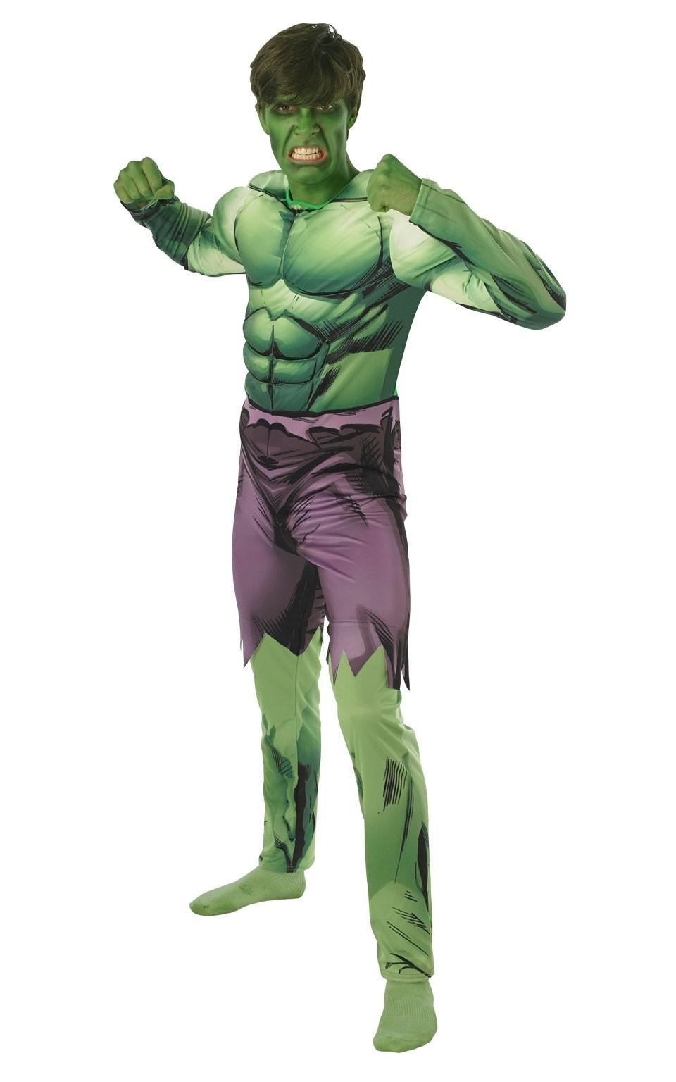Костюм Халка Deluxe (46) зеленый костюм девочка скаут 46