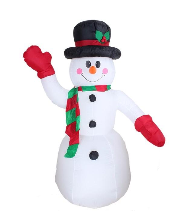 Надувной Снеговик 180 см (UNI) бензопилу shtihl 180 в павлограде