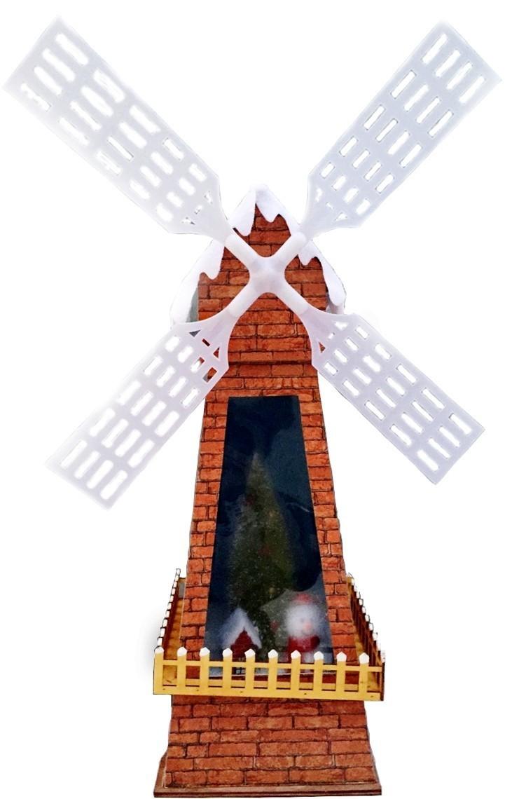 Декорация Новогодняя мельница (UNI)