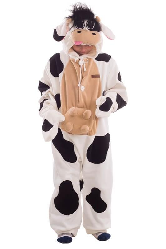 Детская пижама кигуруми Корова (30) - Кигуруми, р.30