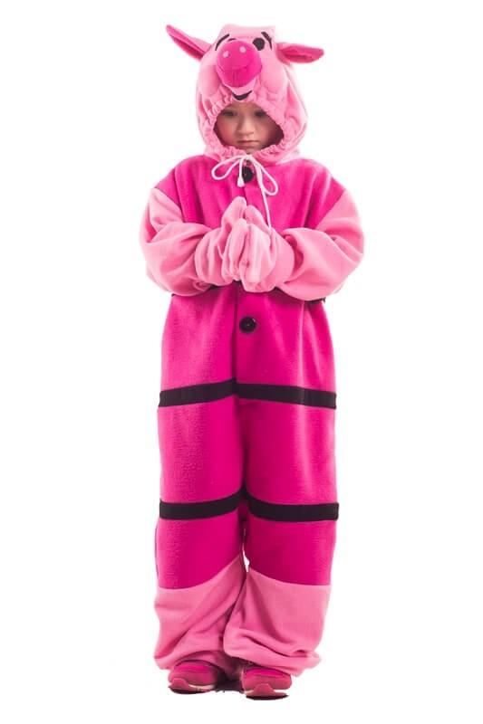 Детская пижама-кигуруми Пятачок (26)